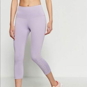 High-Rise Reebok Capri Leggings